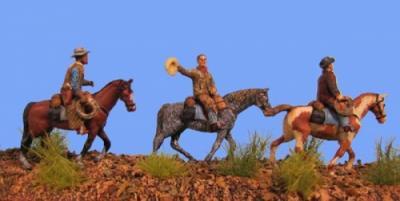 72-9501 - Cowboys bei der Weidearbeit 1/72