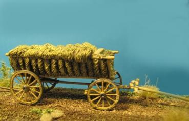 72-Z-002 - Bauernleiterwagen für Ochsen, Maultiere, Zugpferde 1/72