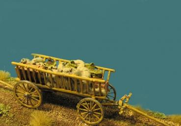 72-Z-003 - Bauernleiterwagen für Ochsen, Maultiere, Zugpferde 1/72