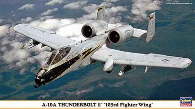 00922 - Fairchild A-10A Thunderbolt II 103rd FW 1/72