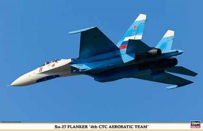 00944 - Sukhoi Su-27 Flanker 4th CTC Aerobatic Team 1/72