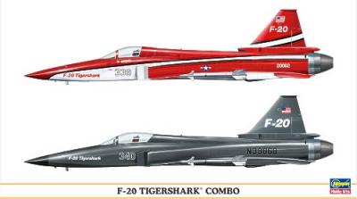 00967 - Northrop F-20 Tigershark Combo (Two kits in the box) 1/72