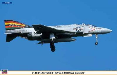 00977 - McDonnell F-4S Phantom 'CVW-5 Midway Combo' (Two kits in the box) 1/72