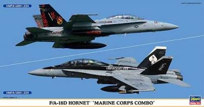 00982 - McDonnell-Douglas F/A-18D Hornet Marine Corps Combo (2 kits in box) 1/72