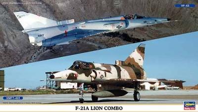 00986 - IAI F-21A Kfir Lion Combo ( 2 kits in box) 1/72