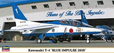 00994 - Kawasaki T-4 Blue Impulse 2010 1/72