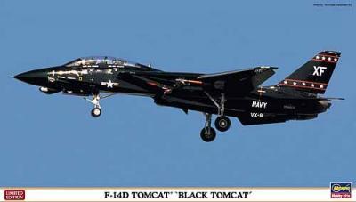 01908 - Grumman F-14D Tomcat 'Black Tomcat' VX-9 Navy 1/72