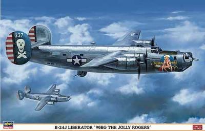 01910 - Consolidated B-24J Liberator 90BG Jolly Rogers 1/72