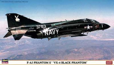 01926 - McDonnell F-4J Phantom II 'VX-4 Black Phantom' 1/72