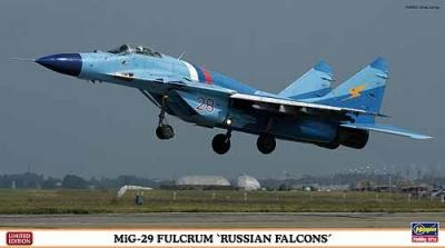 01928 - Mikoyan MiG-29 Fulcrum 'Russian Falcons' 1/72