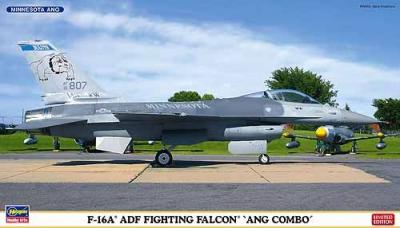 01962 - General-Dynamics F-16A ADF Fighting Falcon 'ANG COMBO' (Two kits in the box) 1/72
