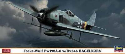 01984 - Focke-Wulf Fw 190A-8 with Bv 246 Hagelkorn 1/72