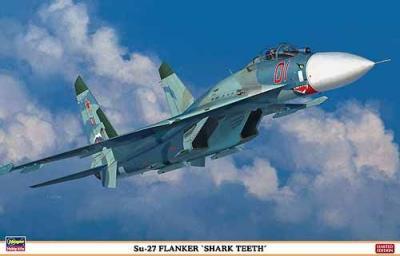 """01995 - Sukhoi Su-27 Flanker """"Shark Teeth"""" 1/72"""