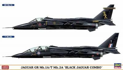 02008 - BAe Jaguar GR Mk.2A Black Combo (2 kits) Limited Edition 1/72