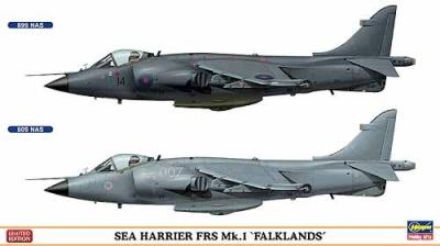 02017 - BAe Sea Harrier FRS.1 (Two kits in the box) 1/72