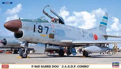 02018 - North-American F-86D Sabre Dog JASDF combo 1/72