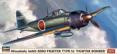 "02019 - Mitsubishi A6M5a Zero Fighter TYPE 52 KOH ""Fighter Bomber"" 1/72"