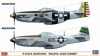 02020 - North-American P-51D/P-51K Mustang ' Pacific Aces' combo 1/72