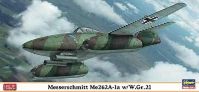 02021 - Messerschmitt Me 262A-1a with W.Gr.21 Rockets 1/72