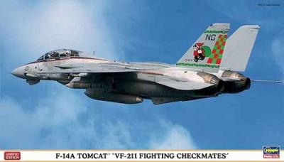 02022 - Grumman F-14A Tomcat VF-211 Fighting Checkmates 1/72