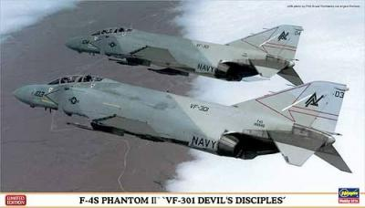 """02023 - McDonnell F-4S Phantom II """"VF-301 Devil's Disciples"""" 1/72"""