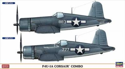 02032 - Vought F4U-1A CORSAIR COMBO (Two kits in the box) 1/72