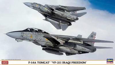 """02040 - Grumman F-14A Tomcat """"VF-211 Iraqi Freedom"""" 1/72"""