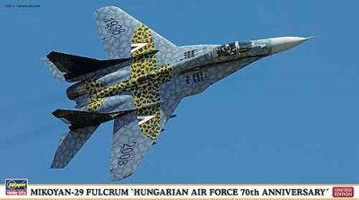 02062 - Mikoyan MiG-29 Fulcrum Hungarian Air Force 70TH Anniversary 1/72