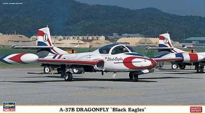 "02072 - Cessna A-37B Dragonfly ""Black Eagles"" (Two kits in the box) 1/72"