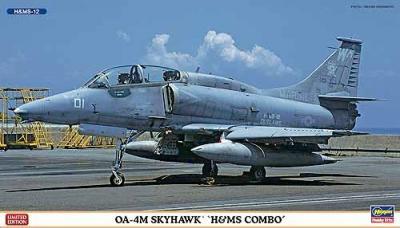 "02083 - Douglas OA-4M Skyhawk ""H&MS Combo"" (Two kits in the box) 1/72"