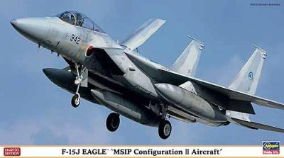 02100 - McDonnell F-15J Eagle MSIP Configuration II Aircraft 1/72