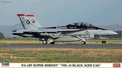 02101 - Boeing F/A-18F Super Hornet VFA-41 Black Aces CAG 1/72
