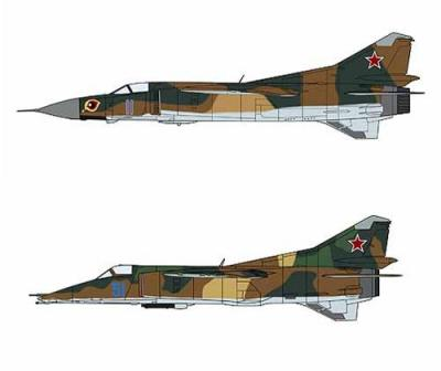 02108 - Mikoyan MiG-23 & Mikoyan MiG-27 COMBO (Two kits in the box) 1/72