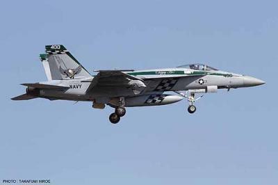 02111 - Boeing F/A-18E Super Hornet 'Chippy Ho 2014' 1/72