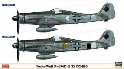02115 - Focke-Wulf Fw 190D-11/13 COMBO (Two kits in the box) 1/72