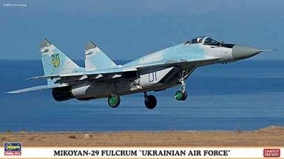 "02118 - Mikoyan MiG-29 Fulcrum ""Ukrainian Air Force"" 1/72"