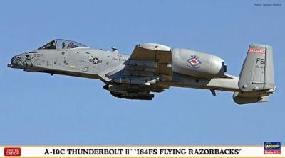 02133 - Fairchild A-10C Thunderbolt II 184FS Flying Razorbacks 1/72