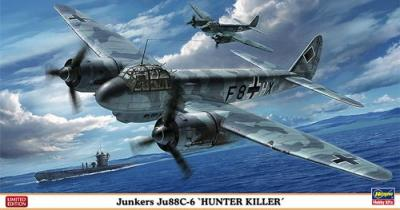 02137 - Junkers Ju 88C-6 Hunter Killer 1/72