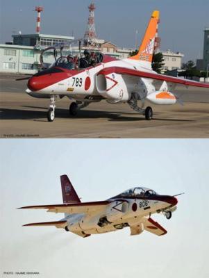 "02142 - Kawasaki T-4 JASDF 60TH Anniversary Part 2"" (Two kits in the box) 1/72"