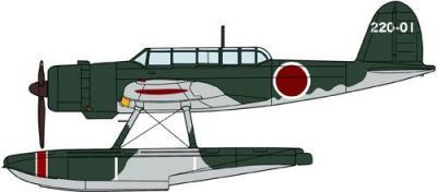 02154 - Aichi E13A1 Type Zero (Jake) Model 11