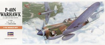 A09 - Curtiss P-40N Warhawk 1/72