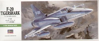B03 - Northrop F-20 Tigershark 1/72
