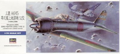 D22 - Mitsubishi A6M5 'Zero' Type 52 'Zeke' 1/72