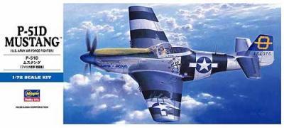 D25 - North-American P-51D Mustang 1/72