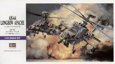E06 - Hughes AH-64A Longbow Apache 1/72