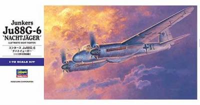 E32 - Junkers Ju 88G-6 Nachtjager 1/72