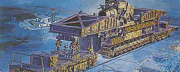 MB32 - Morser Karl railway gun 1/72