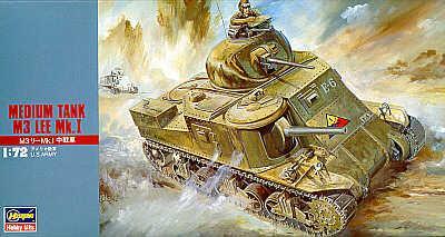 MT004 - M3 Lee tank Mk.1 1/72