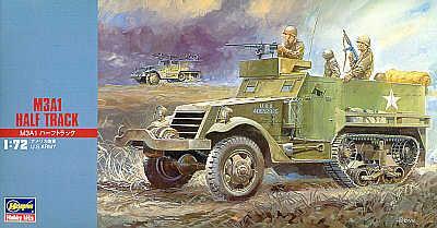 MT006 - U.S. M3A1 half track 1/72