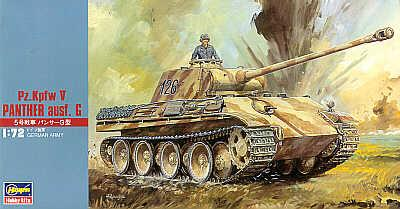 MT009 - Pz.Kpfw.V Ausf.G Panther 1/72